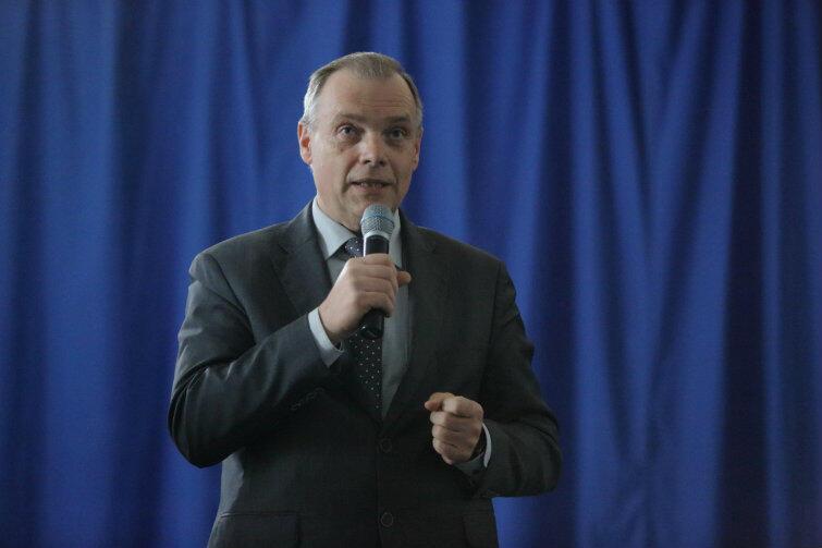 ... na wiele z nich odpowiedzi udzielił Włodzimierz Bartosiewicz, dyrektor Dyrekcji Rozbudowy Miasta Gdańska.