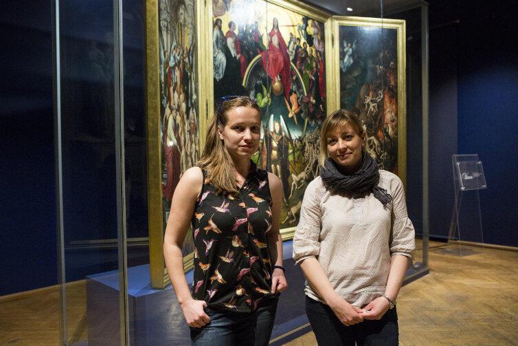Kustoszki, autorki: Magdalena Podgórzak (po lewej) i Alicja Andrzejewska-Zając.