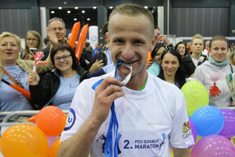 Zwycięzca Paweł Piotraschke (Słupsk)