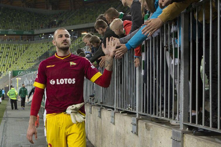 Vanja Milinković-Savić był bohaterem Lechii w meczu z Cracovią. Do zwycięstwa jego parady jednak nie wystarczyły