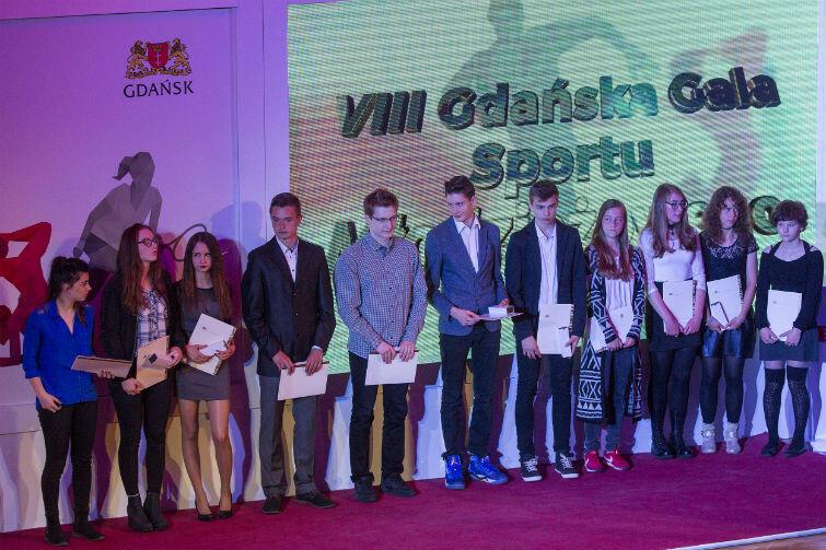 Uhonorowano młodych sportowców z 36 gdańskich klubów...