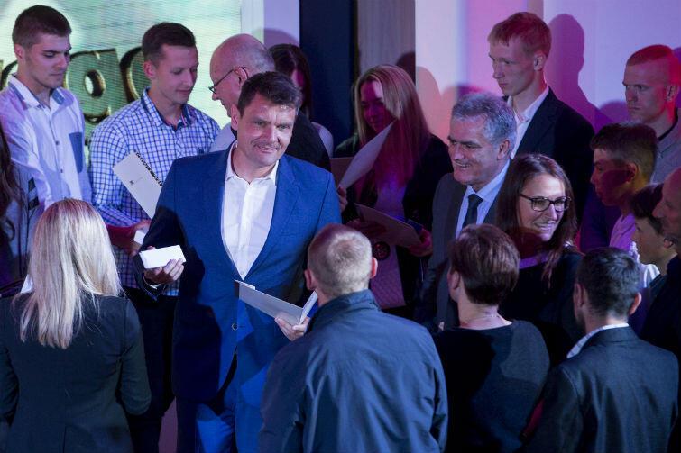 Nagrody wręczali m.in. mistrz olimpijski, świata i Europy w wioślarstiwe, były minister sportu a obecnie poseł Adam Korol oraz Bogdan Oleszek, przewodniczący Rady Miasta Gdańska