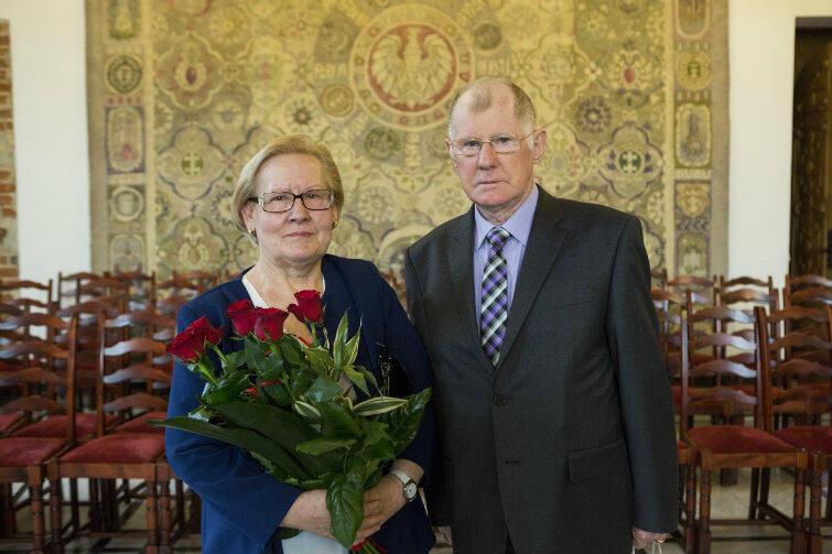 Państwo Wyszeccy - szczęśliwi razem od 55 lat.