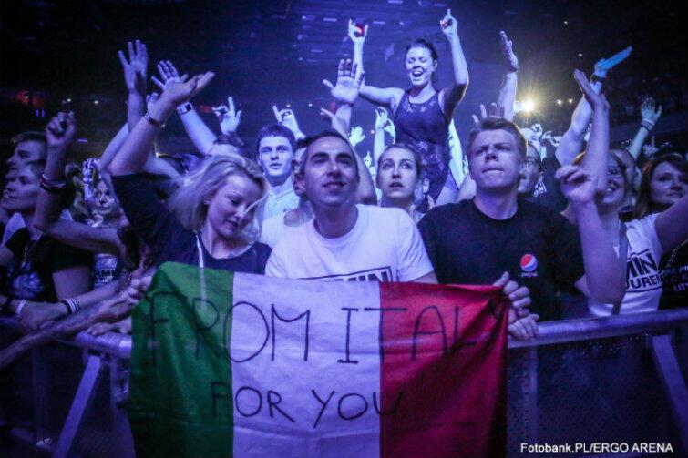 Na koncert przyjechali fani z całej Europy...