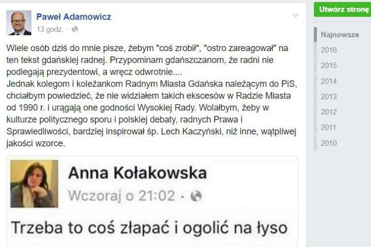 Radna PiS Anna Kołakowska brzydko grozi posłance PO