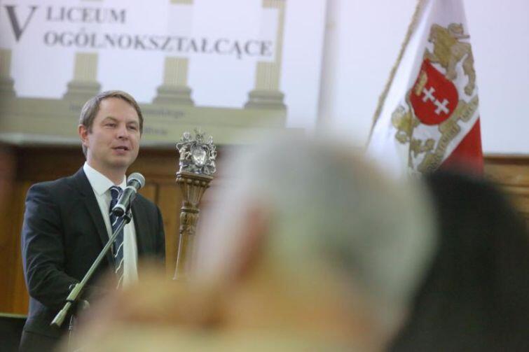 Maciej Grabski, jako przedsiębiorca, czuje się kontynuatorem dokonań oliwskich cystersów.