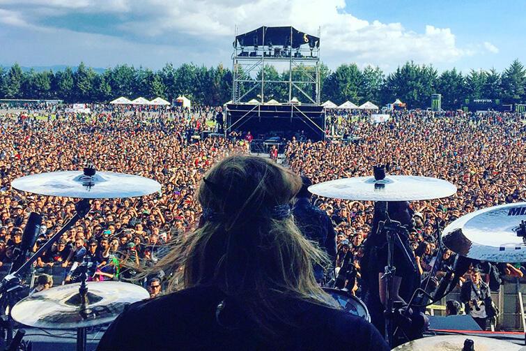 Koncerty Trivium cieszą się dużym zainteresowaniem nie tylko w USA.