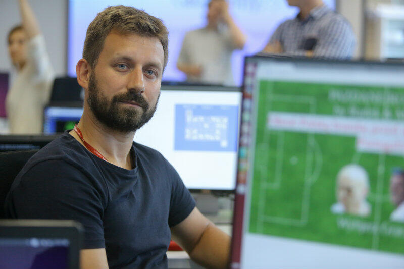 Łukasz Kisicki: do udziału w kursie skłoniła mnie chęć zmiany jakości życia.