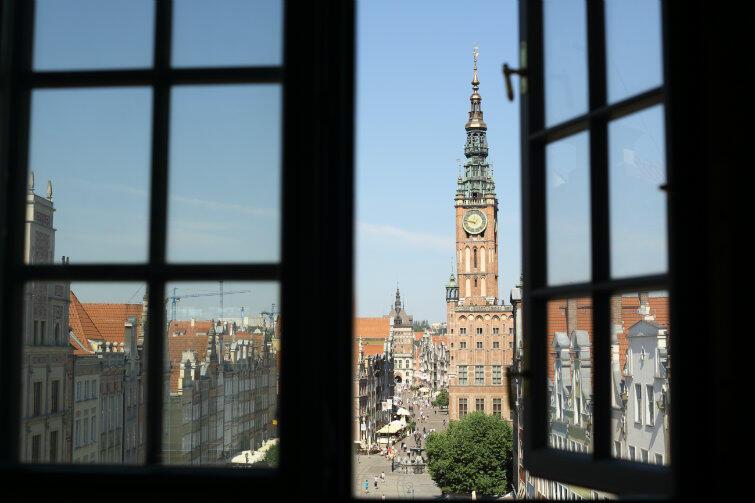 Zegar na wieży Ratusza Głównego Miasta stoi - dlaczego?