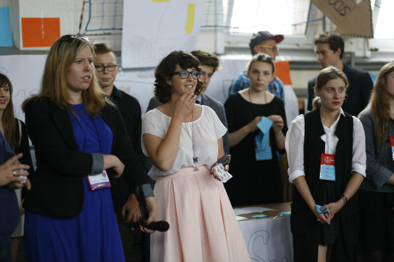 Agnieszka Cichocka (na środku): nasz program jest magiczny