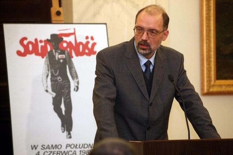Prof. Andrzej Nowak, historyk Uniwersytetu Jagiellońskiego, znawca Rosji i polityki wschodniej marszałka Piłsudskiego, założyciel prawicowego wydawnictwa Arcana.