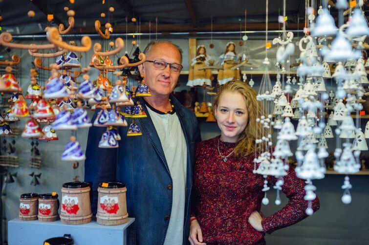Kęstutis Šeduikis był pierwszym Litwinem, który sprzedawał swoje wyroby na Jarmarku św. Dominika. Dziś wystawców z Litwy jest 20.