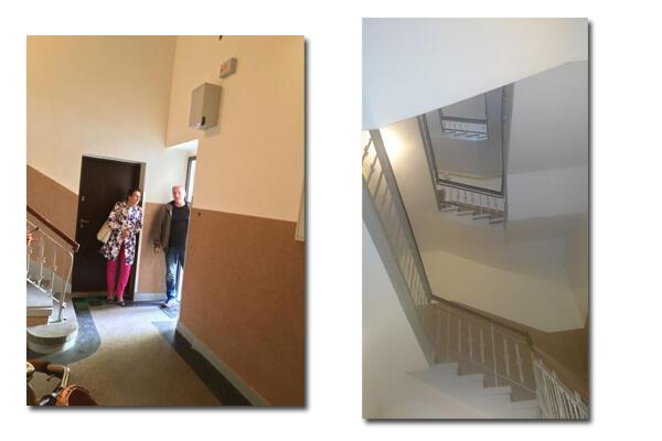 Nagroda w wysokości 25 tys. zł umożliwiła wykonanie remontu klatki schodowej