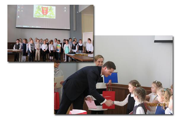 Sympatycznym akcentem tej gali był występ dzieci klasy 0 Szkoły Podstawowej nr 88 w Gdańsku