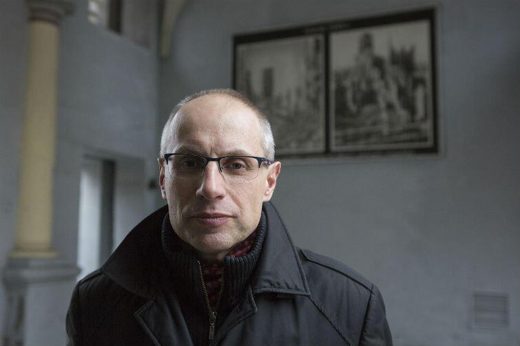 Prof. Paweł Machcewicz, do 1 grudnia dyrektor MIIWŚ w Gdańsku. Zwolniony po ośmiu latach ciężkiej pracy.