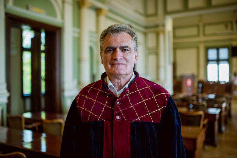 Przewodniczący Rady Miasta Gdańska, Bogdan Oleszek, był jednym z radnych wysłuchujących tego dnia próśb mieszkańców.