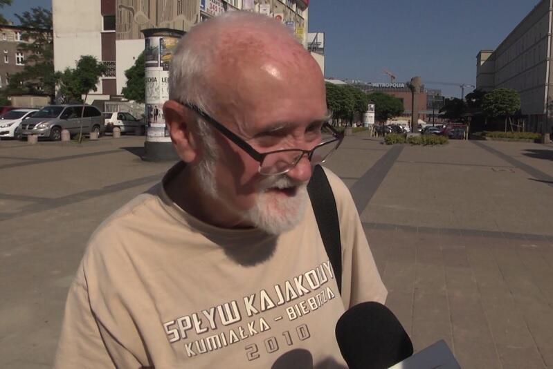 Mieszkańcy i przechodnie z Wrzeszcza Górnego mówią o demokracji
