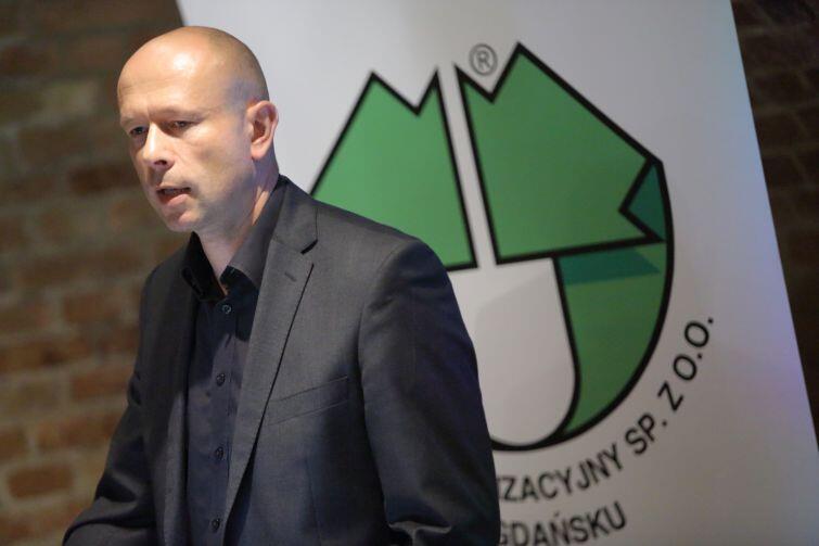 Wojciech Głuszczak prezes Zakładu Utylizacyjnego w Gdańsku