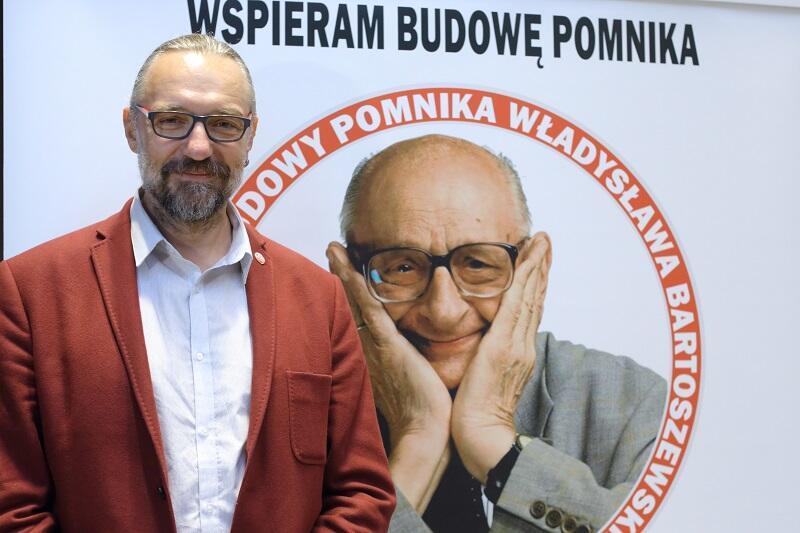 Mateusz Kijowski i Władysław Bartoszewski