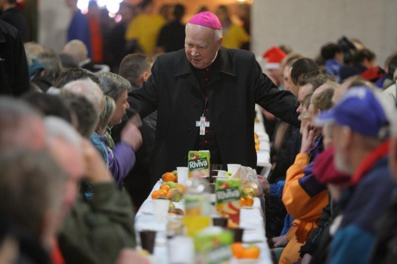 Arcybiskup Tadeusz Gocłowski znajdował czas dla każdego