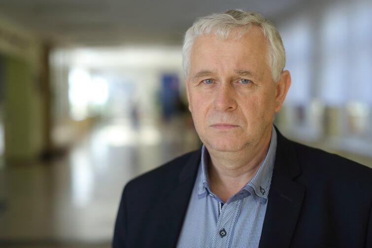 Mirosław Michalski, dyrektor SP 42 w Gdańsku Suchaninie.
