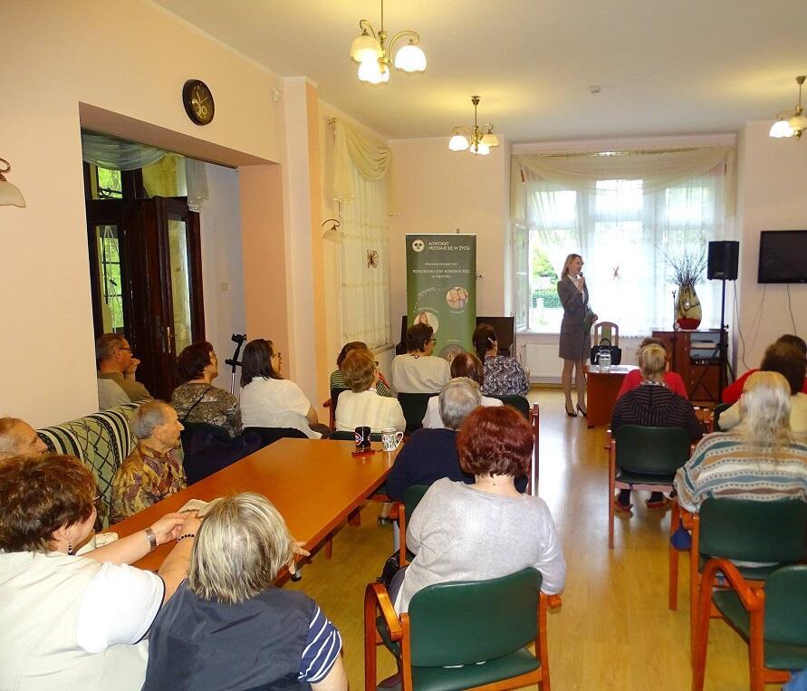 adw. Agnieszka Kapała-Sokalska podczas szkolenia z prawa rodzinnego