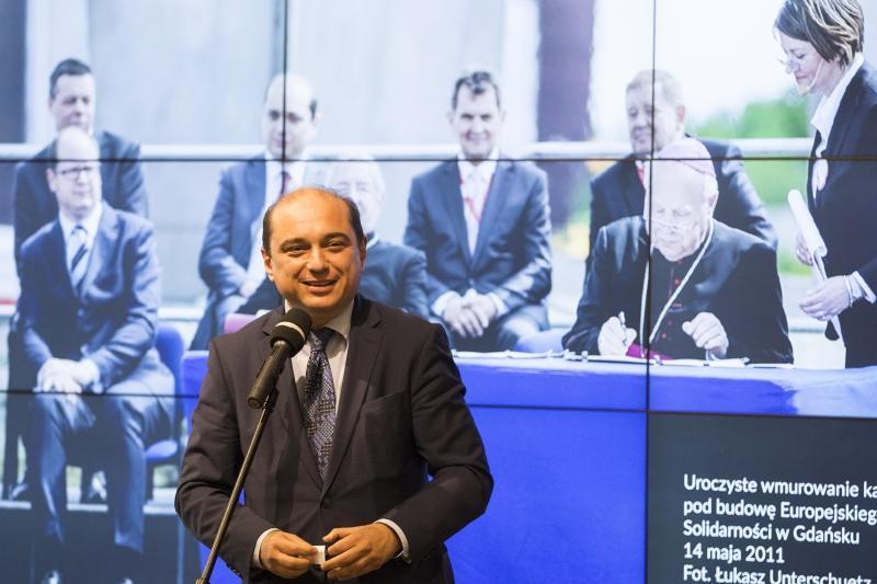 Dla Europejskiego Centrum Solidarności Tadeusz Gocłowski był bardzo ważny - mówił dyrektor ECS Basil Kerski.