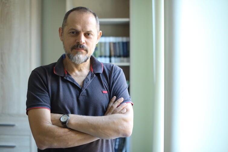 Prof. Rafał Wnuk, szef pionu naukowego MIIWŚ oraz wykładowca na KUL-u w Lublinie.