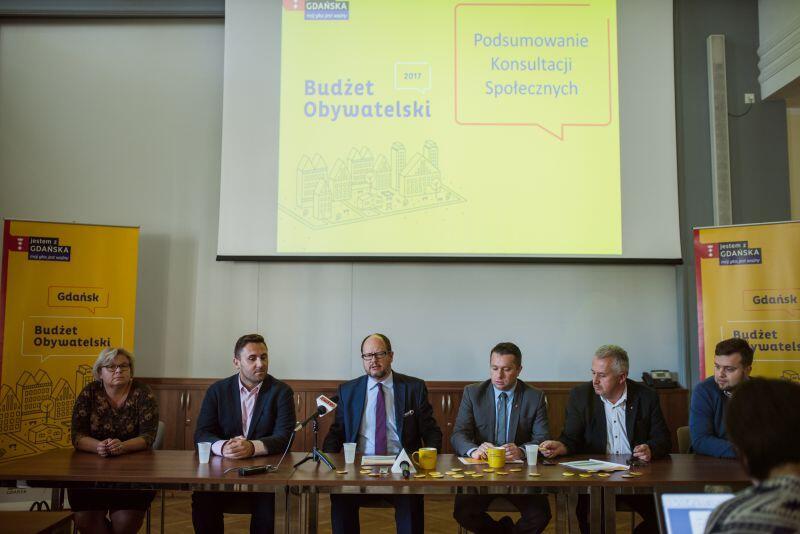 Wyniki głosowania mieszkańców na projekty Budżetu Obywatelskiego 2017 ogłoszono we wtorek. Zwycięskie projekty odczytywał prezydent Gdańska, Paweł Adamowicz.