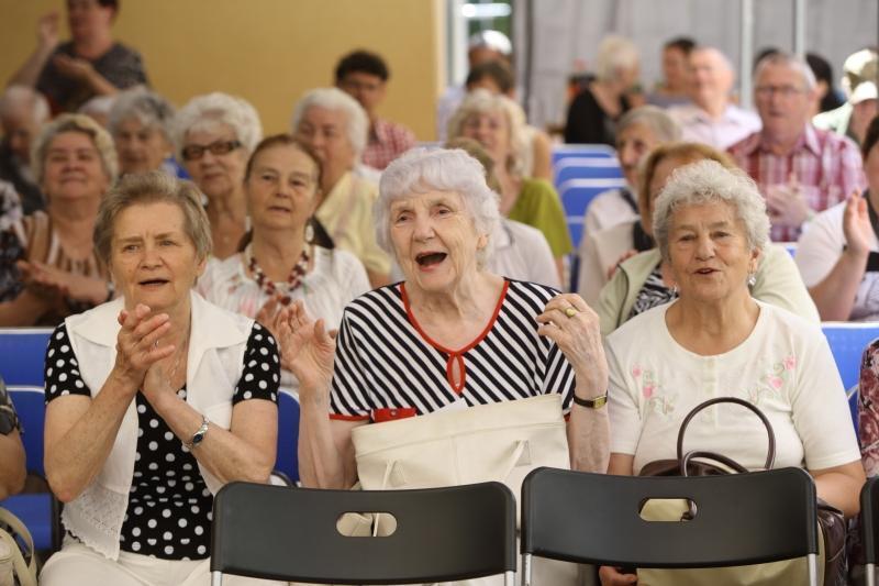 Gdańscy seniorzy lubia się bawić