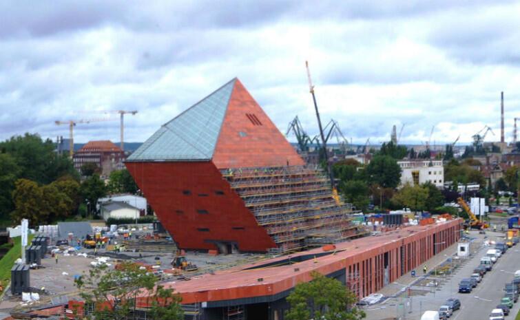 Bryła Trójmiasta. Wiadomo: budynek MIIWŚ, w którym od lutego ma być otwarta ekspozycja stała!