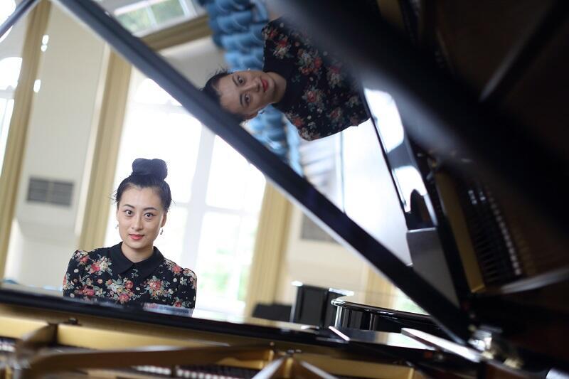 Zhang Chao Ying - doktorantka Akademii Muzycznej w Gdańsku