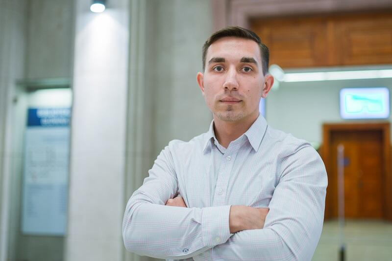 Valerij Żakowski, student Wydziału Mechanicznego na Politechnice Gdańskiej