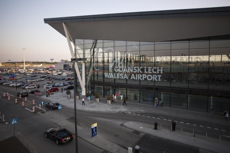 Terminal pasażerski gdańskiego lotniska