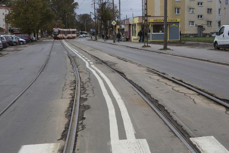 Na plażę na Stogach, w komfortowych warunkach, można już dojechać samochodem. Wkrótce będzie tak i z tramwajem.