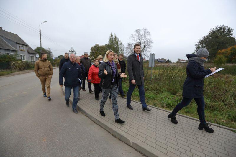 W środę odbył się spacer gospodarczy zastępcy prezydenta Gdańska, urzędników i radnych dzielnicy Matarnia.