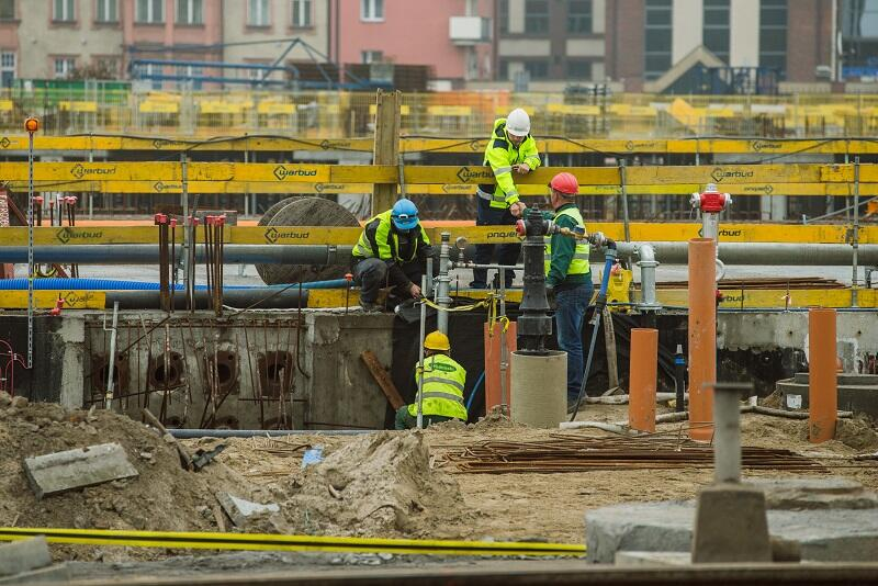 Forum Gdańsk to ciągle jeszcze wielki plac budowy