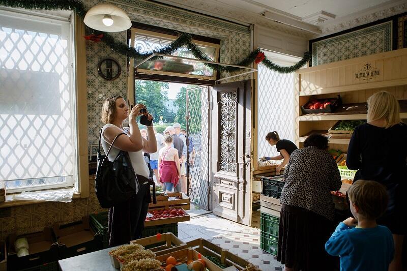 Niezwykłe wnętrze oruńskiego warzywniaka na jednej z tras zwiedzania