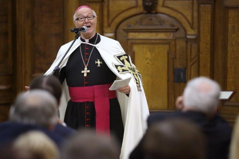Wielki mistrz zakonu krzyżackiego Bruno Platter mówi, dlaczego świętuje w Gdańsku pokój, który jego zakonowi przyniósł wielkie straty.