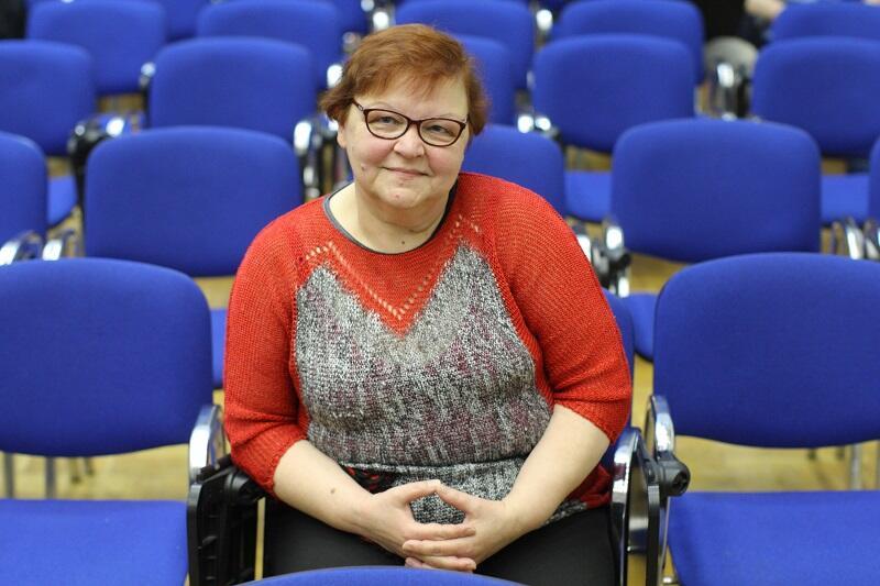 Danuta Kamińska vel ciocia Dana: jedna z seniorek, która konsultowała uczniowskie aplikacje.