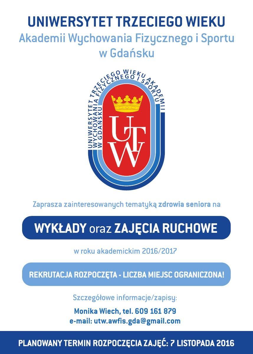 Uniwersytet Trzeciego Wieku Akademii Wychowania Fizycznego i Sportu w Gdańsku