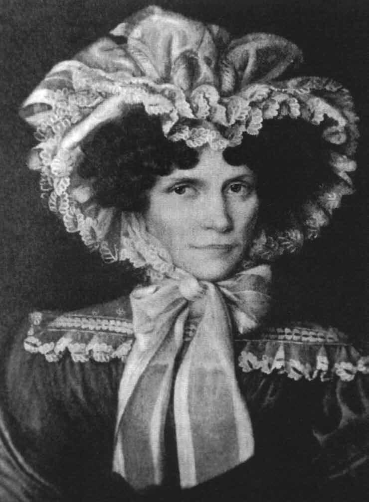 Johanna Schopenhauer, ok. 1815