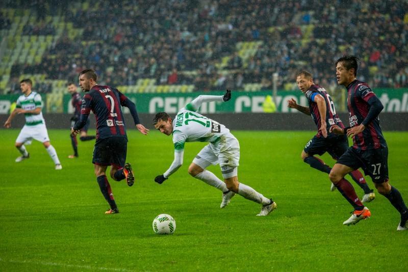 5 listopada 2016 roku, Stadion Energa Gdańsk, mecz Lechii z Pogonią Szczecin