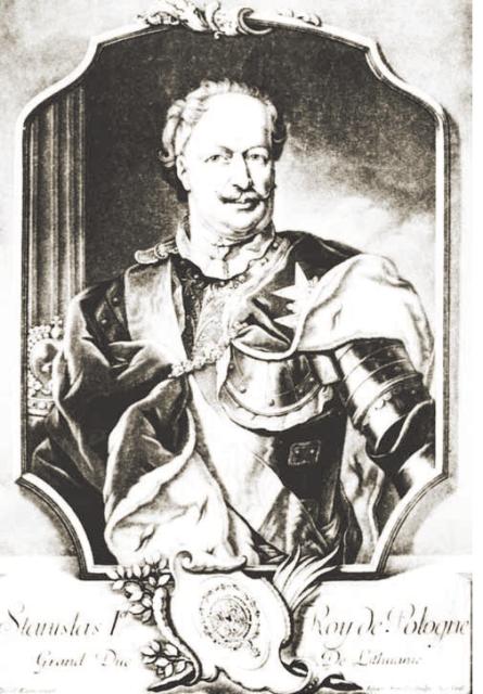 Stanisław Leszczyński, portret autorstwa Daniela Kleina