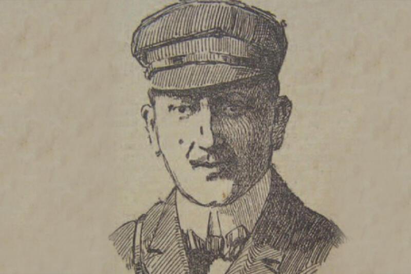 Rok 1912 - katastrofa balonu, w której zginął doktor Schucht