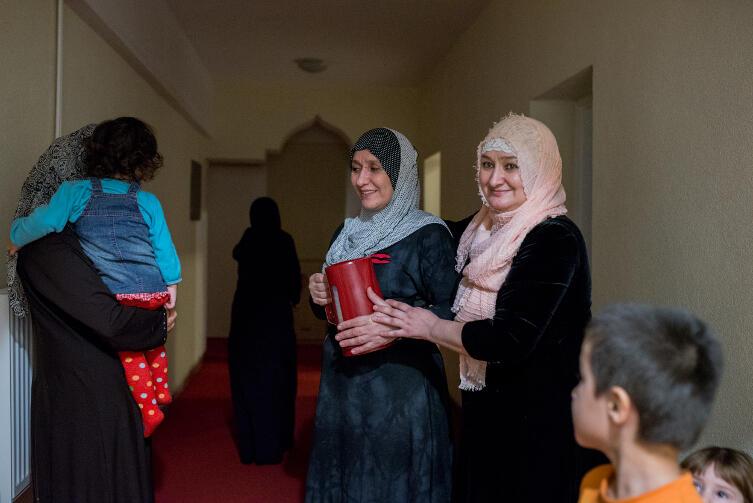 Niektóre czeczeńskie kobiety nie zgodziły się na zdjęcia. Ale rozmawiały z nami bez stresu