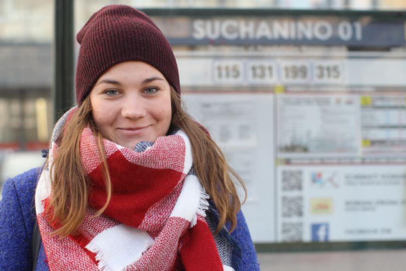 Katarzyna Iwańska, mieszkanka Suchanina, chciałaby, aby przyszli radni zajęli się uporządkowaniem przestrzeni publicznej w dzielnicy