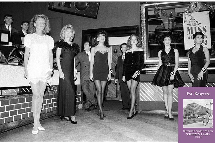 Wybory Miss Wybrzeża w klubie Romantica, w lutym 1993 roku