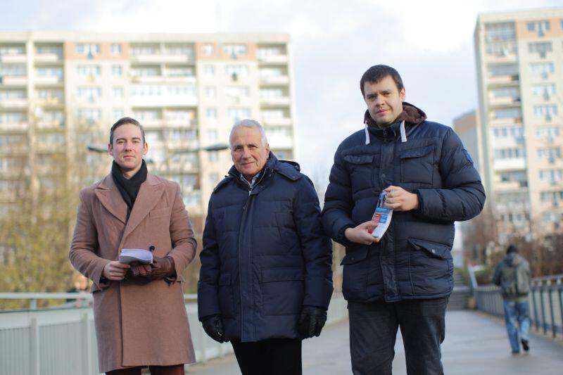 Udało się powołać Radę Dzielnicy Suchanino! Dostali się do niej m.in. (od lewej) Juliusz Grabowski, Orest Stocki i Szymon Mazurkiewicz