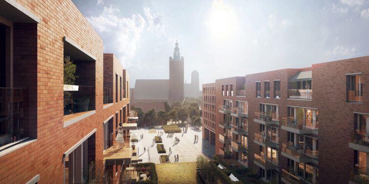 Inwestycja powstaje na terenie pomiędzy Galerią Handlową Madison, budynkiem NOT-u i hotelem Mercure Gdańsk